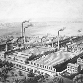 Factory for metal cartridges 1872