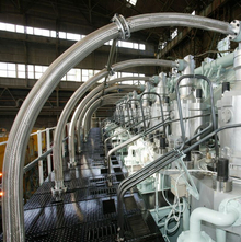 Metallschläuche stationärer Motoren