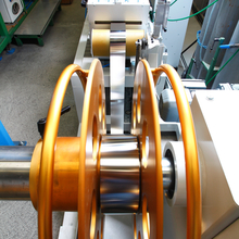 Continuous high precision pipe production