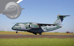 Maiden Flight of the Embraer KC-390